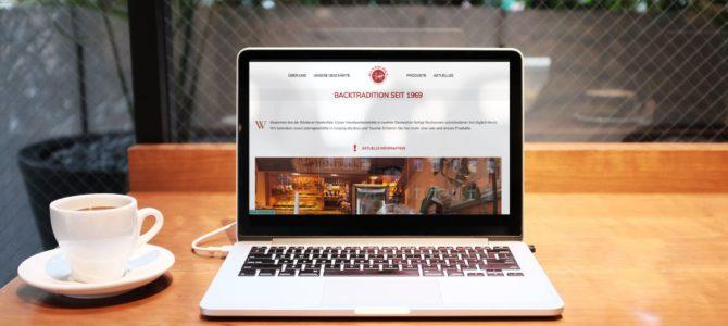 Website für Bäckerei Hantschke
