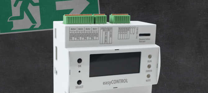 easyCONTROL: GAZ stellt hybrides Überwachungssystem für Einzelbatterieleuchten vor